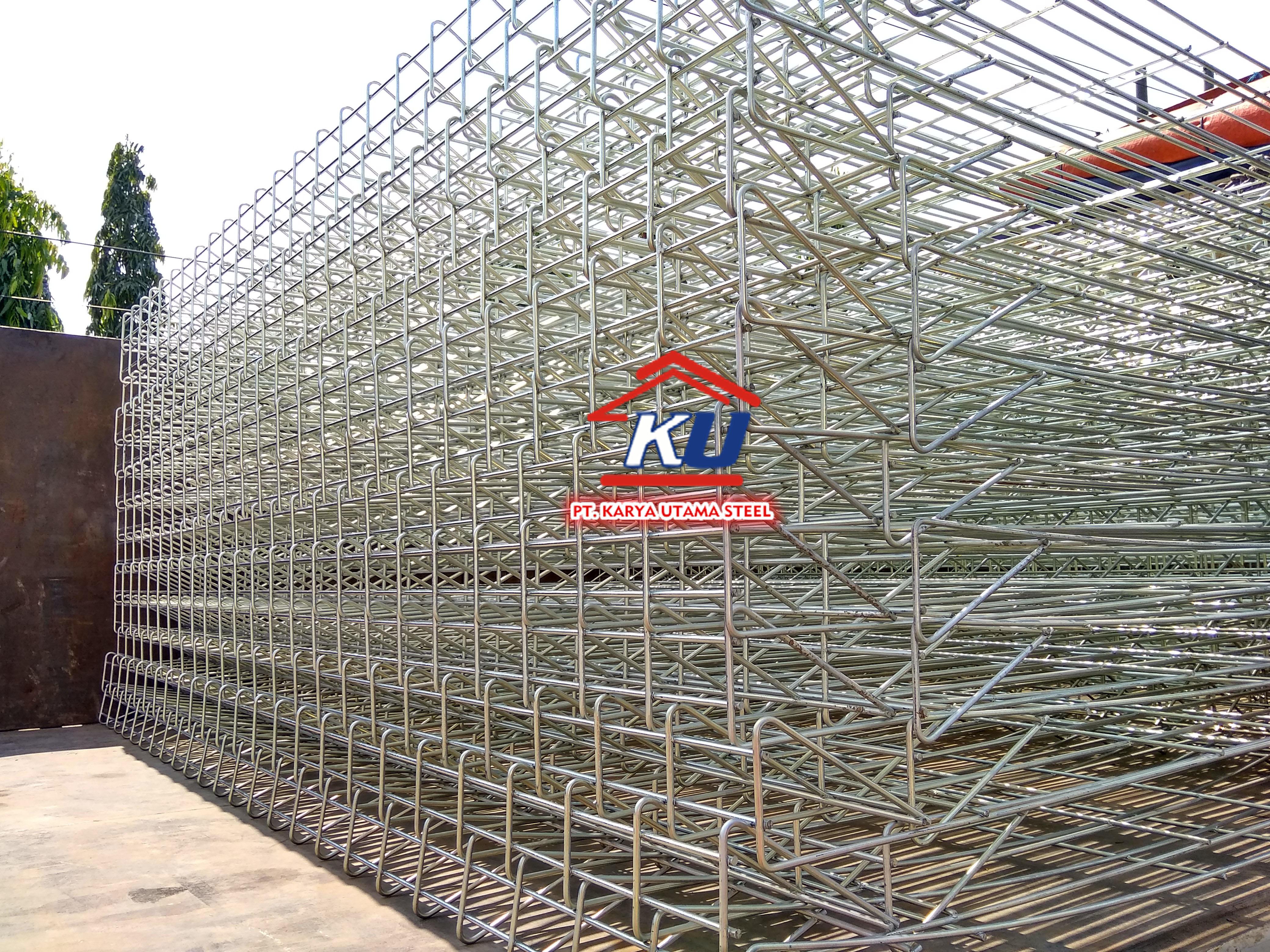 Distributor Pagar RBC Sidoarjo Galvanis Elektroplating Tinggi 150 cm Murah dan Kokoh