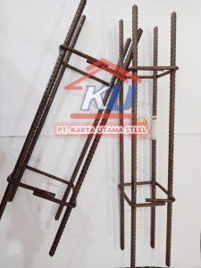 Kolom Praktis Panjang 300cm Untuk Pondasi Bangunan