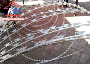 Jual Kawat Silet / Razor Wire BTO 22, BTO 30, CBT 65 Murah Berkualitas