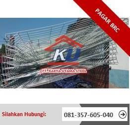 Distributor Pagar BRC Surabaya Tinggi 90cm Sampai 190cm