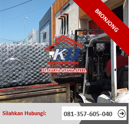 Jual Bronjong Pabrikasi per Roll Terjangkau Surabaya 2019