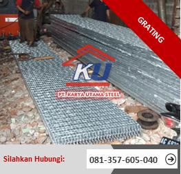 Harga Steel Grating Per Meter Sidoarjo Termurah 2019