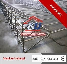 Harga Pagar BRC Murah Ready Stock Surabaya Hotdeep Galvanis