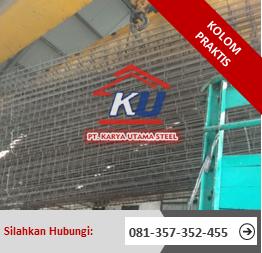 Distributor Kolom Praktis Sidoarjo Produksi Fabrikasi Panjang 3 Meter