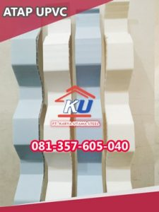 Supplier Distributor Atap UPVC Rooftop Transparan Surabaya Murah