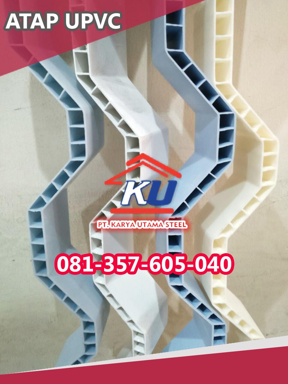 Harga Atap Dingin UPVC Merk Rooftop 2020 Murah Ready Surabaya