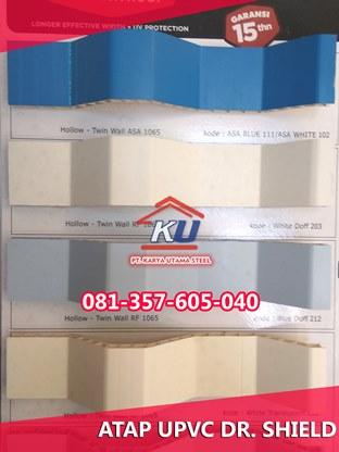 Jual Atap PVC Surabaya Produksi Indonesia Merk Dr Shield