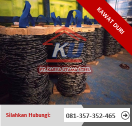 Jual Kawat Duri Surabaya Per Roll Murah Panjang 100 Meter Ready Stok