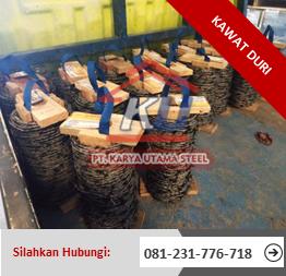 Supplier Kawat Duri Surabaya 100m Murah Tahan Karat