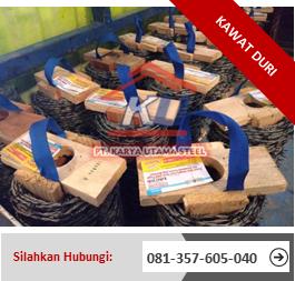 Jual Kawat Duri Surabaya Per Roll HICA Benzinal 2000 Lapisan Baja