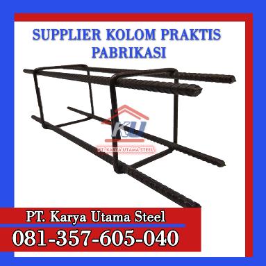 Jual Kolom Praktis Dinding Cor Surabaya Murah 3 Meter