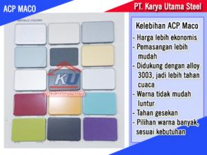 Supplier ACP Termurah Merk Maco Surabaya Untuk Dinding dan Perabotan