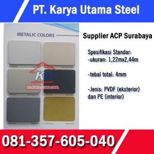 Jual Aluminium Composite Panel Merk Alcopan Murah Ready Gudang Sidoarjo