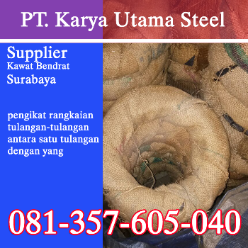 Supplier Kawat Bendrat untuk Ikat Besi Tulangan Murah Surabaya
