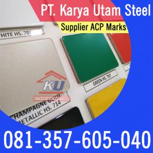 Distributor ACP Aluminium Composite Panel Surabaya Merk Marks 4mm