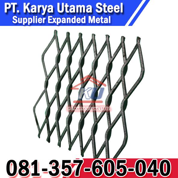 Jual Expanded Steel dan Alumunium Murah Tebal 5mm Ready Stock Surabaya