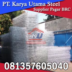 BRC Pagar Besi Galvanis Harga Termurah Di Surabaya | Bisa Cutom |081357605040