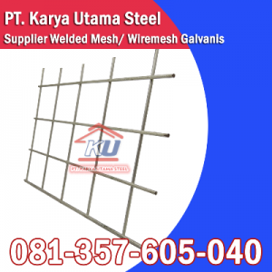 Supplier Distributor Jual Welded Mesh Panjang 30m Tebal 4mm Ready Stock Surabaya