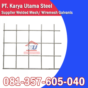 jual wiremesh galvanis surabaya – harga wiremesh galvanis 2020 surabaya – supplier wiremesh galvanis surabaya – distributor wiremesh galvanis surabaya – karya utama steel 5