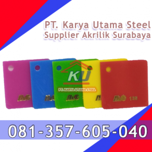 Supplier Jual Akrilik Surabaya Per Lembar untuk Plakat Lampu Medali