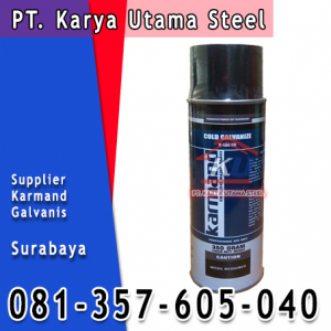 Supplier Cat Besi Galvanis Tahan Karat Surabaya Spray Galvanize Karmand