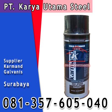Jual Cat Galvanis Murah Surabaya Cold Galvanize Karmand