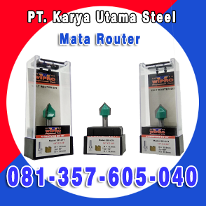 Distributor Jual Mata Router Untuk Mesin Profil Trimmer Tekuk ACP