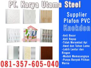 Supplier Plafon PVC Plastik Untuk Rumah Merk Knokdon Surabaya Sidoarjo