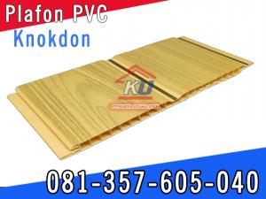 Jual Plafon PVC Plastik Untuk Rumah Merk Knokdon Surabaya Sidoarjo