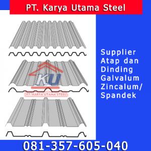 Distributor Supplier Atap Spandek Seng Galvalum Murah Surabaya Sidoarjo