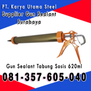 Gun Sealant Sosis Tabung Tube Surabaya Tembakan Untuk Lem Sealant Kaca ACP Murah