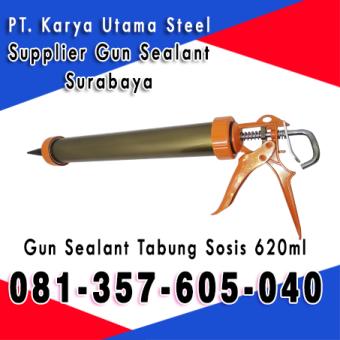 Jual Guan Sealant Tembakan Lem Silikon Kaca ACP Murah Surabaya Sidoarjo