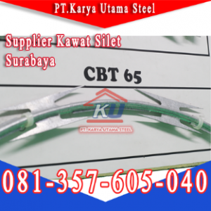 Distributor Kawat Silet Razor Wire Surabaya Sidoarjo Murah