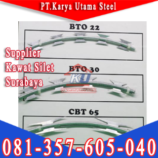 Jual Kawat Duri Silet BTO 22 CBT 65 Di Surabaya Sidoarjo