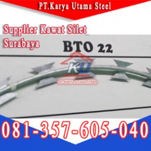 Supplier Razor Wire Kawat Silet Tahan Karat Surabaya Sidoarjo