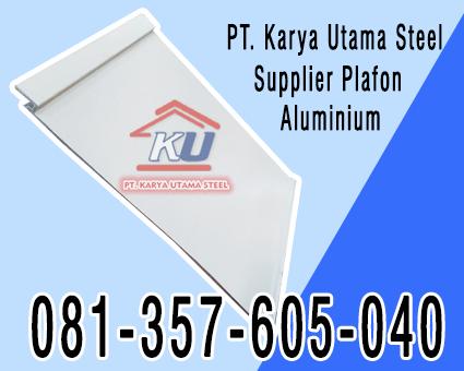Jual Plafon Aluminium Spandrel Murah di Surabaya Sidoarjo Jawa Timur