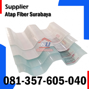 Jual Atap Fiber di Surabaya – Atap Plastik Semi Bening Transparan Harga Murah