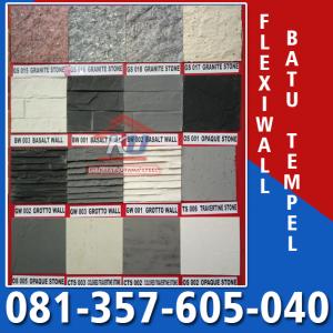 Jual Batu Alam Tempel Fleksibel  di Surabaya – Harga Batu Alam Untuk Dinding Tiang Pagar Fasad