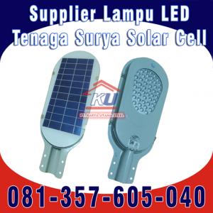Harga Lampu Jalan LED Solar Cell Tenaga Surya 2020 24 Watt di Surabaya