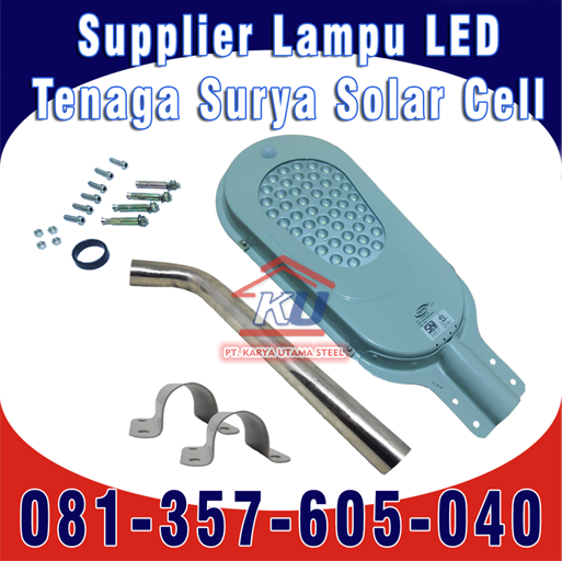 Jual Lampu PJU Tenaga Surya Surabaya | LED Hemat Energi Harga Murah